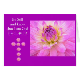 Be Still And Know That I Am God  Note Cards
