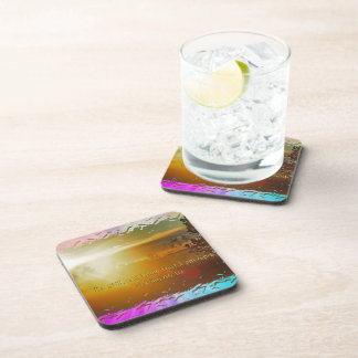 BE STILL AND KNOW THAT I AM GOD -PSALM 46:10 COASTER