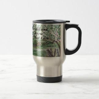 Be  Still and Know Travel Mug
