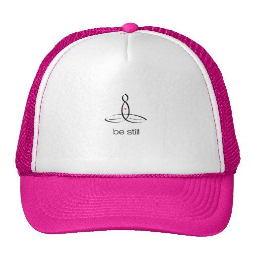 Be Still - Black Regular style Trucker Hats
