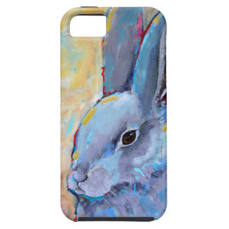 Be Still - Bunny Rabbit Art Painting Phone Case