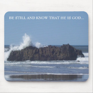 Be Still-Know that He is God-Mouse Pad Mouse Pad