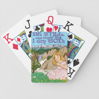 Be Still Playing Cards