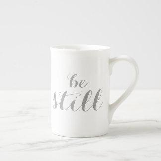 be still tea cup