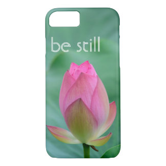 be still zen lotus buddha iPhone 7 case