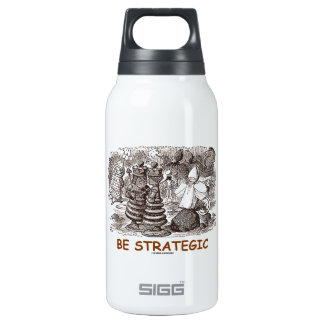 Be Strategic (Through The Looking Glass Chess) SIGG Thermo 0.3L Insulated Bottle