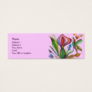 Be Strong and Grow Mini Business Card