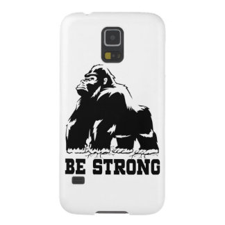 BE STRONG GORILLA GALAXY S5 CASE