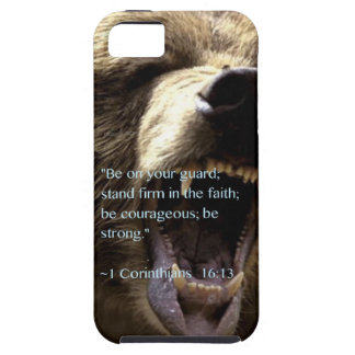 """Be strong"" iPhone 5 Case"