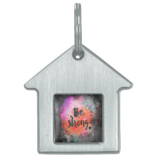 Be strong pet ID tag