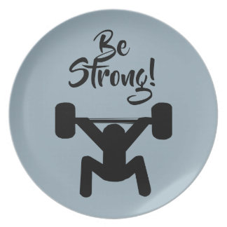 Be Strong Plate