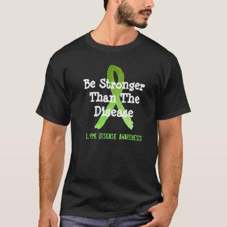 Be Stronger than the Disease Lyme Disease T-Shirt