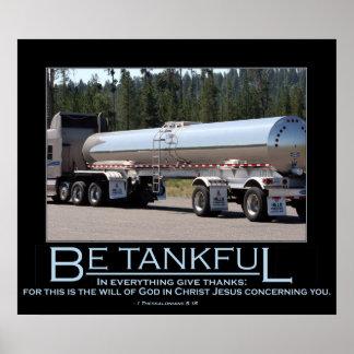 Be Tankful Poster