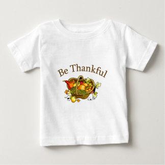 Be Thankful Baby T-Shirt
