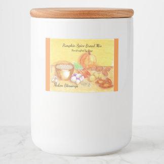 Be Thankful for Vegetables Mabon Harvest Home Food Label