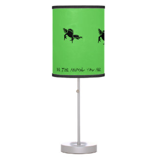 """Be The Animal You Are"" Jumping Tree Frog Lamp"