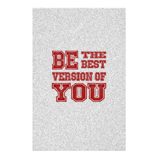 Be the Best Version of You Stationery