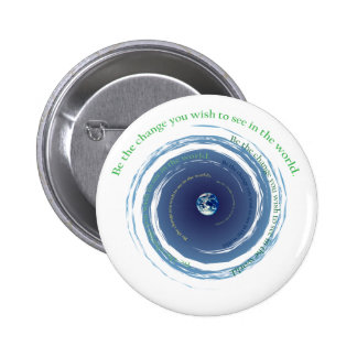 Be The Change 2 Inch Round Button