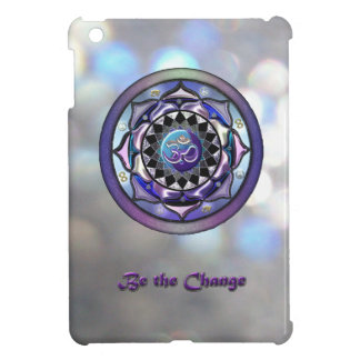 Be the Change Mandala Metallic iPad Mini Case