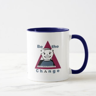 """BE THE CHANGE""  Mug"