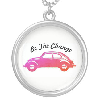 Be The Change Silver Plated Necklace