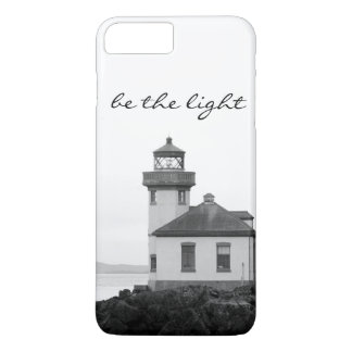 """Be the light"" iphone case"