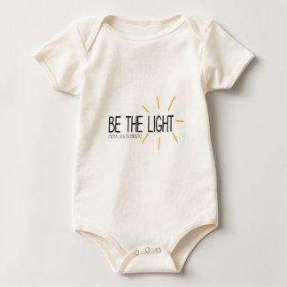 Be the Light Mental Health Ministry Baby Bodysuit