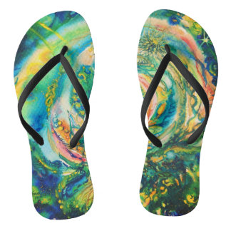 Be the Miracle - flip flops