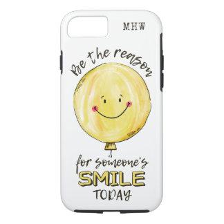 """Be The Reason"" custom monogram phone cases"