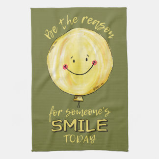 """Be The Reason"" kitchen towel"