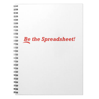 Be the Spreadsheet Notebooks