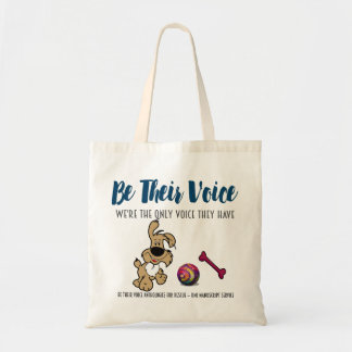 BE THEIR VOICE-Animal Rescue Project-Dog Tote Bag