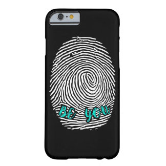 Be Unique. Be You! Barely There iPhone 6 Case