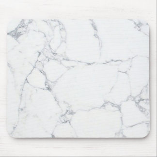 be white marble mouse pad