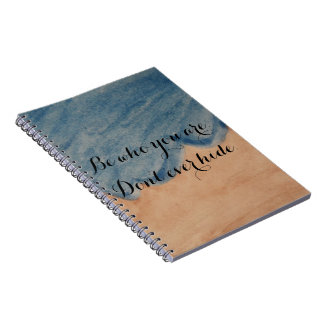 Be Who You Are Notebook