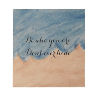 Be Who You Are Notepad