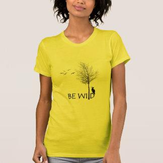 BE WiLD fine jersey t-shirt