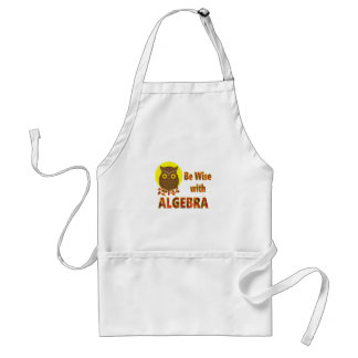 Be Wise With Algebra Standard Apron
