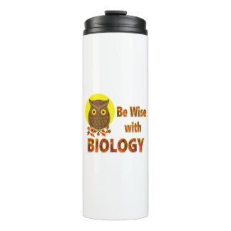 Be Wise With Biology Thermal Tumbler