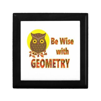 Be Wise With Geometry Trinket Boxes