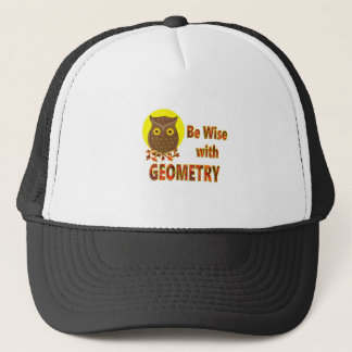 Be Wise With Geometry Trucker Hat