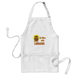 Be Wise With Libraries Standard Apron