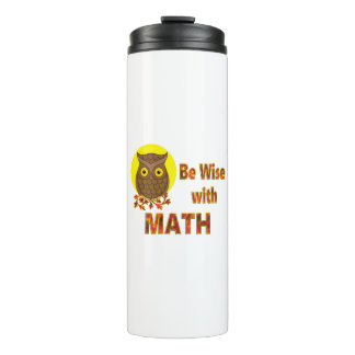 Be Wise With Math Thermal Tumbler