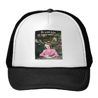 Be With Him Mesh Hats