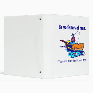 Be ye fishers of men vinyl binders