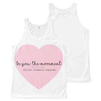 Be You: The Movement logo tank