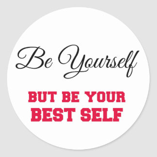 Be your Best Self Sticker