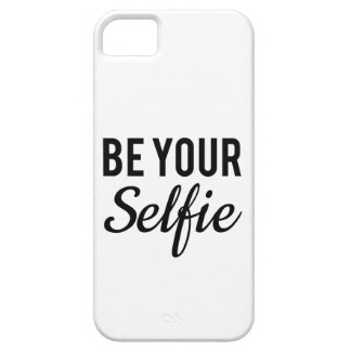 be your selfie, word art, text design t-shirt case for the iPhone 5