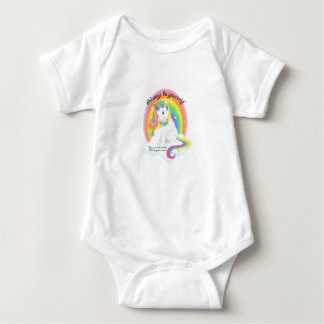 Be Yourself, Be a Unicorn Body Suit Baby Bodysuit