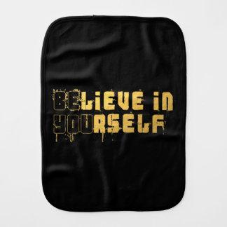 Be yourself burp cloth